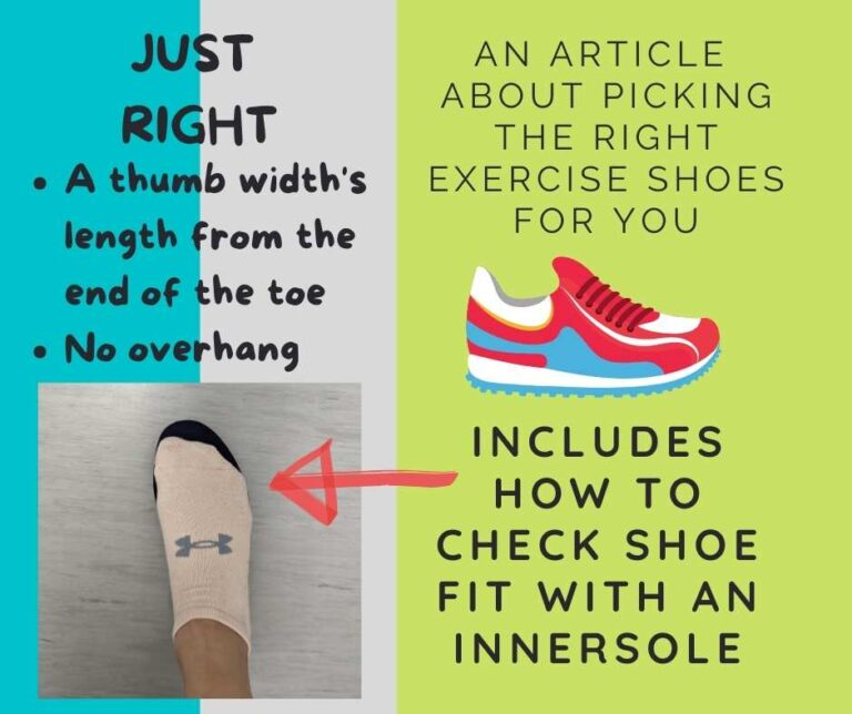 Picking the Right Exercise Shoes for You